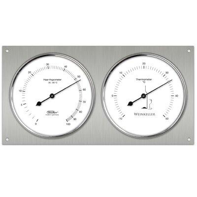 Fischer Barometer Weinkeller-Klimamesser