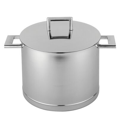 John Pawson for Demeyere Stock Pot with Lid Size: 8.5-qt.