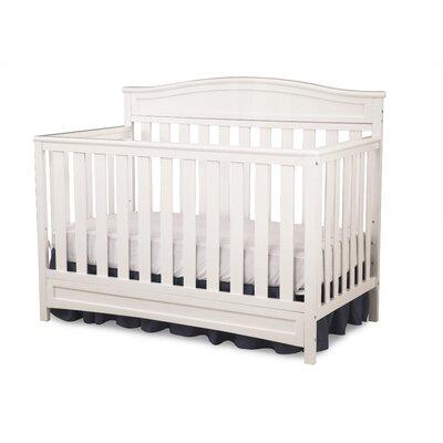 Emery 4-in-1 Convertible Crib Color: White