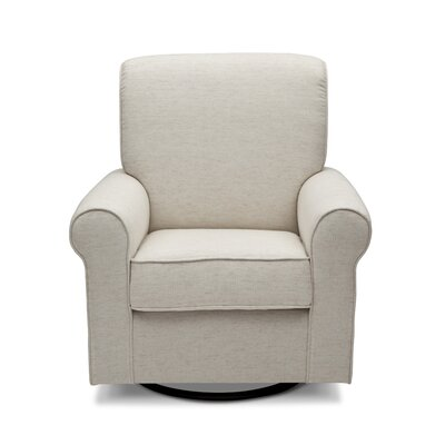 Avery Swivel Glider Color: Sand
