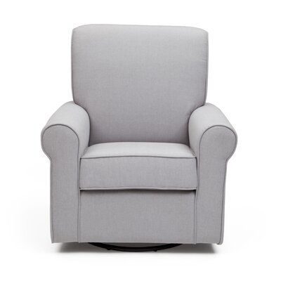 Avery Swivel Glider Color: Heather Gray