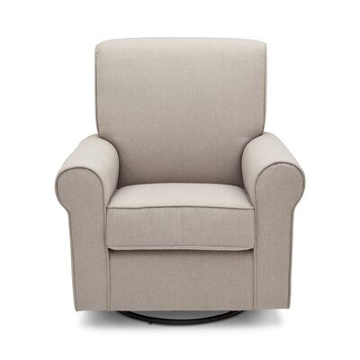 Avery Swivel Glider Color: Taupe