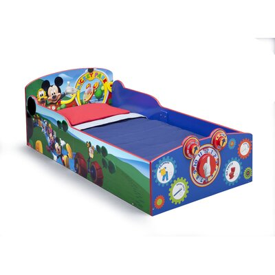 Mickey Mouse Convertible Toddler Bed