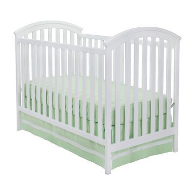 Arbour 3-in-1 Convertible Crib Color: White