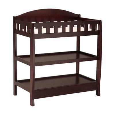 Wilmington Changing Table Color: Dark Chocolate