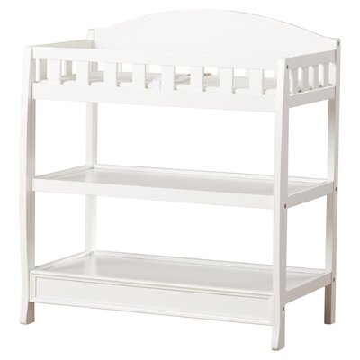 Wilmington Changing Table Color: White