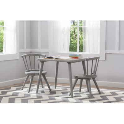 Delta Children Windsor 3 Piece Table And Chair Set