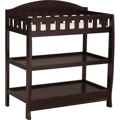 Wilmington Changing Table Color: Espresso Cherry