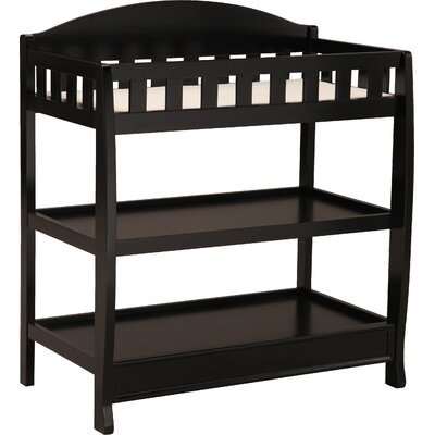Wilmington Changing Table Color: Black