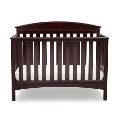 Abby 4-in-1 Convertible Crib Color: Dark Chocolate