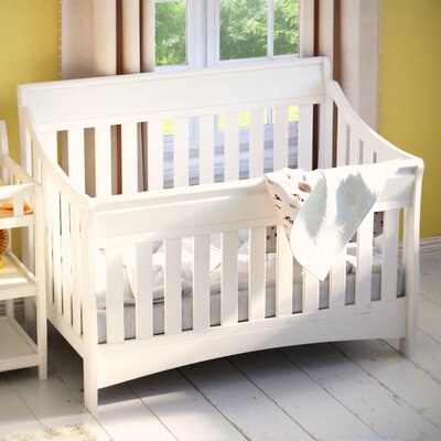 Bentley 'S' Series 4-in-1 Convertible Crib Color: White