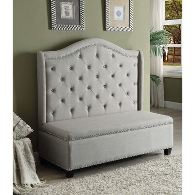 Fairly Upholstered Storage Bench