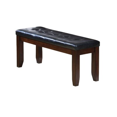Stanley Brown/Black Wood Bench