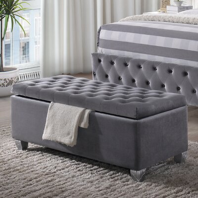 Rebekah Upholstered Storage Bench
