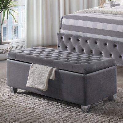 Rebekah Upholstered Storage Bench