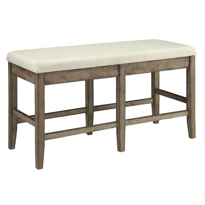 Boutin Rectangular Wood Bench