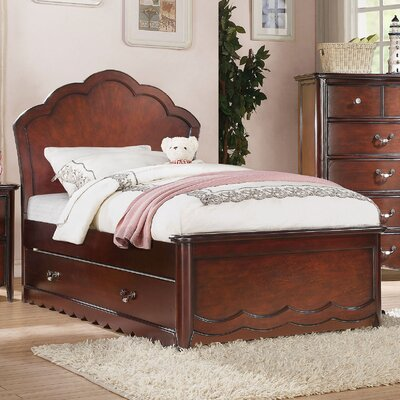 Scalf Panel Bed Size: Full, Bed Frame Color: Cherry