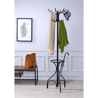 Brummett Coat Rack Color: Black