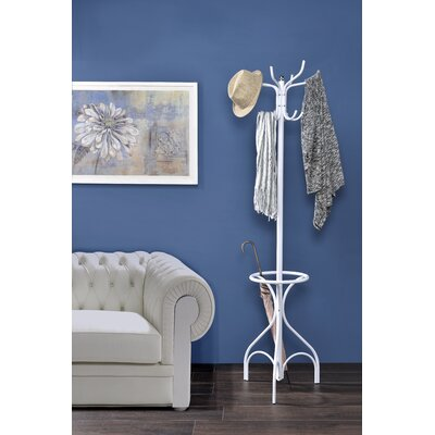 Brummett Coat Rack Color: White