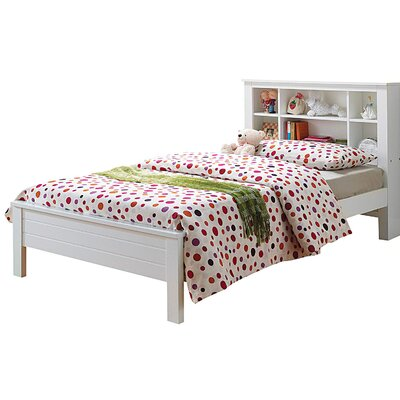 Aubuchon Bookcase Twin Platform Bed
