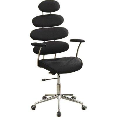 Noma Mesh Desk Chair Color: Black