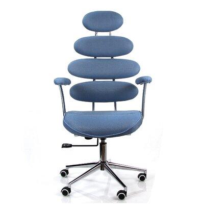 Noma Mesh Desk Chair Color: Light Blue