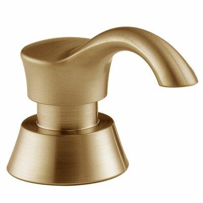 Gala Soap Dispenser Finish: Brilliance Champagne Bronze