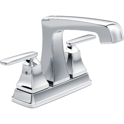 Ashlyn Centerset Bathroom Faucet with Drain Assembly and Diamond Seal Technology Finish: Chrome