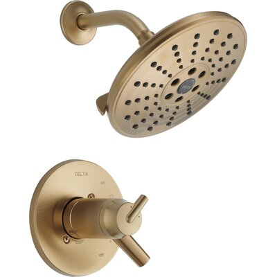 Trinsic Bathroom Thermostatic Shower Only Trim Finish: Venetian Bronze