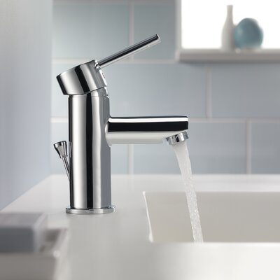 Trinsic Single Hole Bathroom Faucet Finish: Chrome