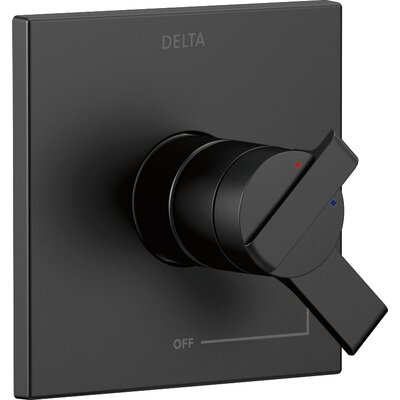 Ara Monitor Valve Faucet Trim Finish: Matte Black