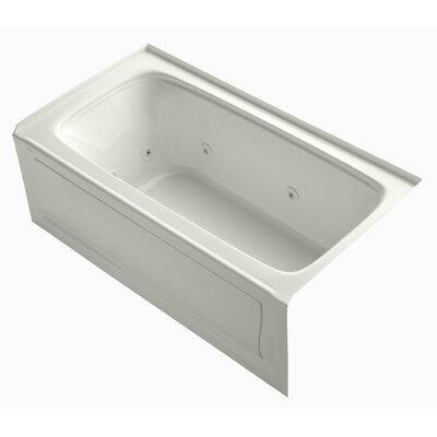 "Bancroft 60"" x 32"" Whirlpool Bathtub Finish: Dune"