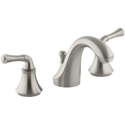 Fort Widespread Bathroom Faucet with Drain Assembly Finish: Vibrant Brushed Nickel