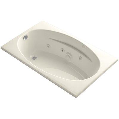 "Proflex 60"" x 36"" Whirlpool Bathtub Finish: Almond"
