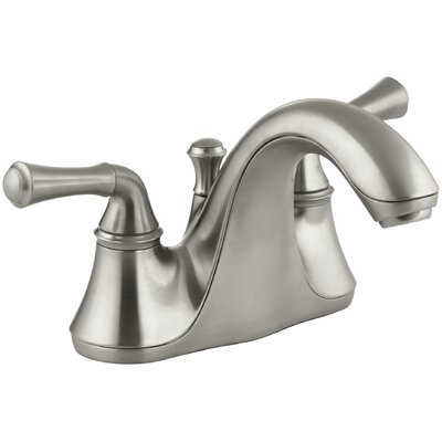 Forte Centerset Bathroom Faucet with Drain Assembly Finish: Vibrant Brushed Nickel