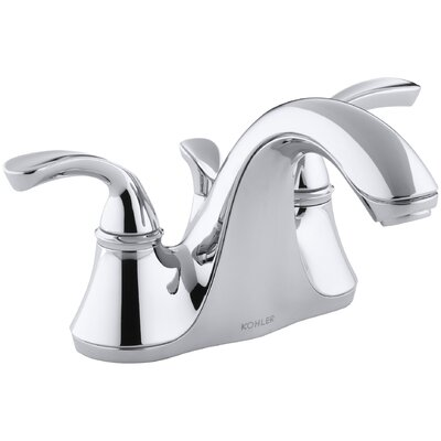 Fort Centerset Bathroom Faucet with Drain Assembly Finish: Polished Chrome