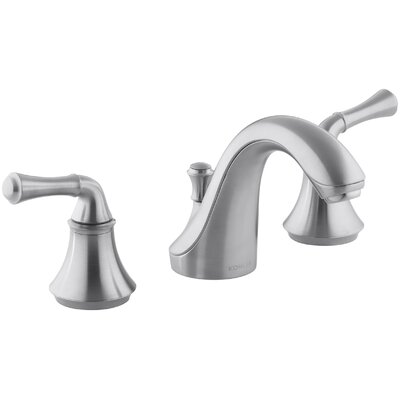 Fort Widespread Bathroom Faucet with Drain Assembly Finish: Brushed Chrome