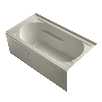 "Devonshire Alcove 60"" x 32"" Soaking Bathtub Finish: Sandbar"