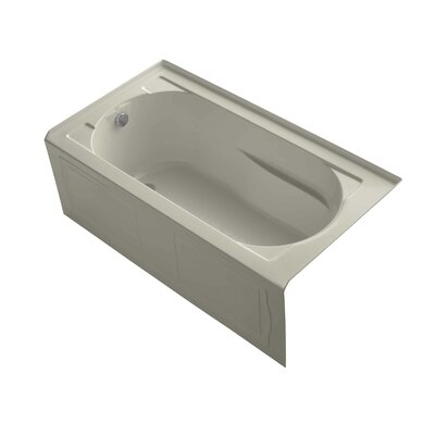 "Devonshire tub 60"" x 32"" Soaking Bathtub Finish: Sandbar"