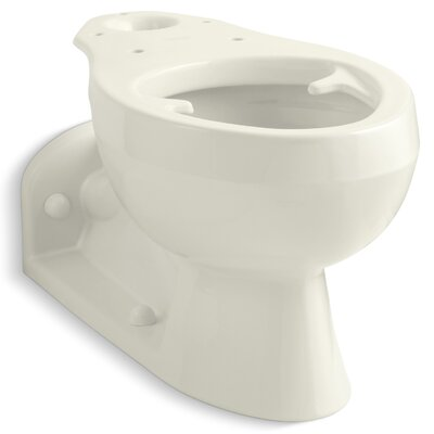 Barrington Elongated Bowl with Pressure Lite Flushing Technology, Less Seat Finish: Biscuit