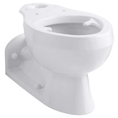 Barrington Elongated Bowl with Pressure Lite Flushing Technology, Less Seat Finish: White