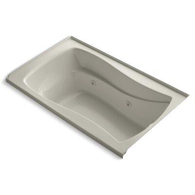 "Mariposa 60"" x 36"" Whirlpool Bathtub Finish: Sandbar"