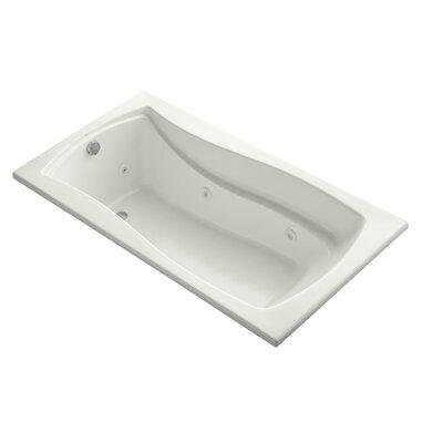 "Mariposa 66"" x 36"" Whirlpool Bathtub Finish: Dune"