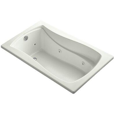 "Mariposa 60"" x 36"" Whirlpool Bathtub Finish: Dune"