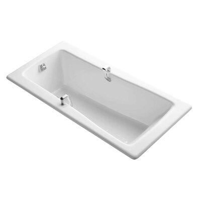 "Maestro 66"" x 32"" Soaking Bathtub Finish: White"