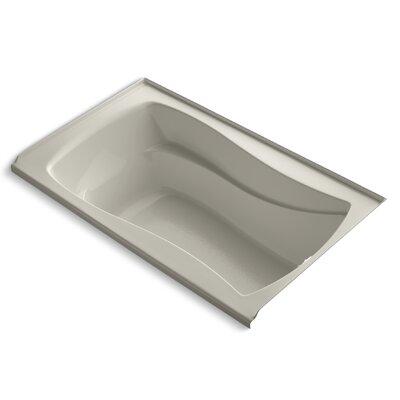 """Mariposa 60"""" x 36"""" Soaking Bathtub Finish: Sandbar"""