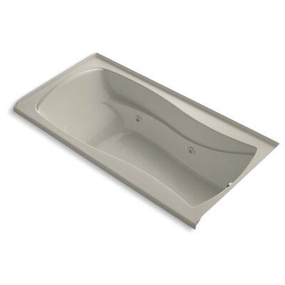 "Mariposa 72"" x 36"" Whirlpool Bathtub Finish: Sandbar"