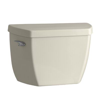Highline Classic 1.0 GPF Toilet Tank with Left-Hand Trip Lever Finish: Almond