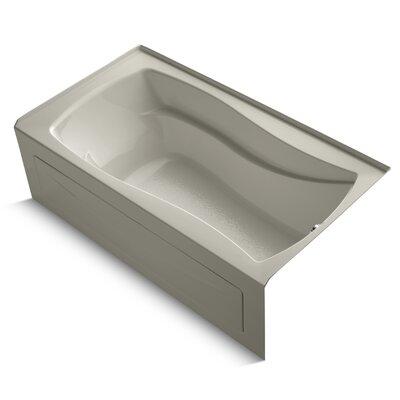 """Mariposa Alcove 66"""" x 36"""" Soaking Bathtub Finish: Sandbar"""