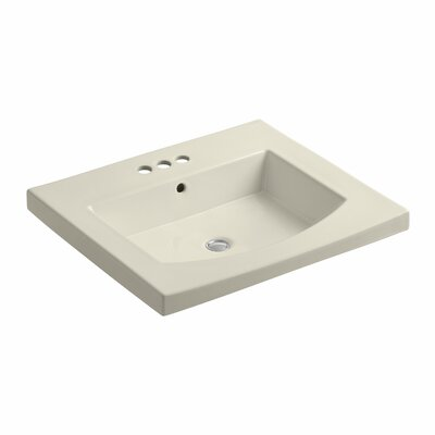 "Persuade 25"" Single Bathroom Vanity Top Finish: Almond"